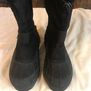 Ozark Trail Winter Duck Boots Black Size 9 US
